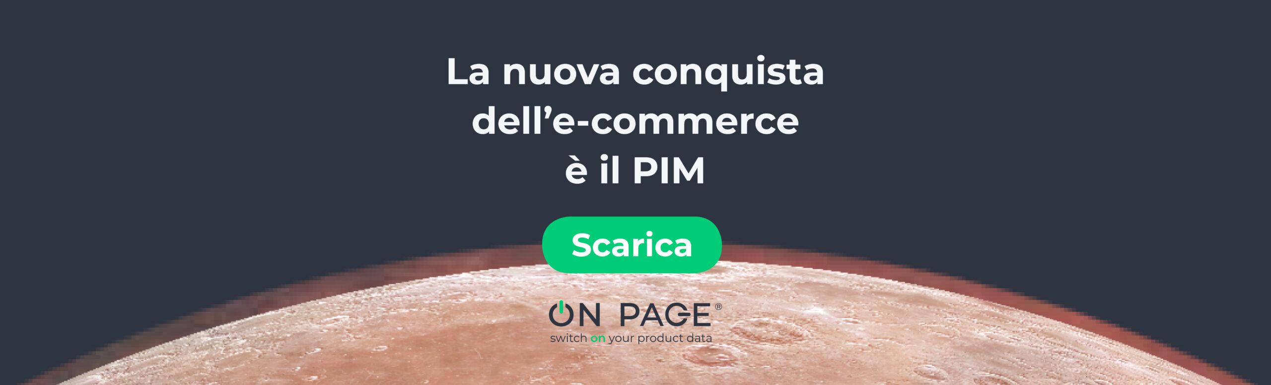E-commerce e PIM