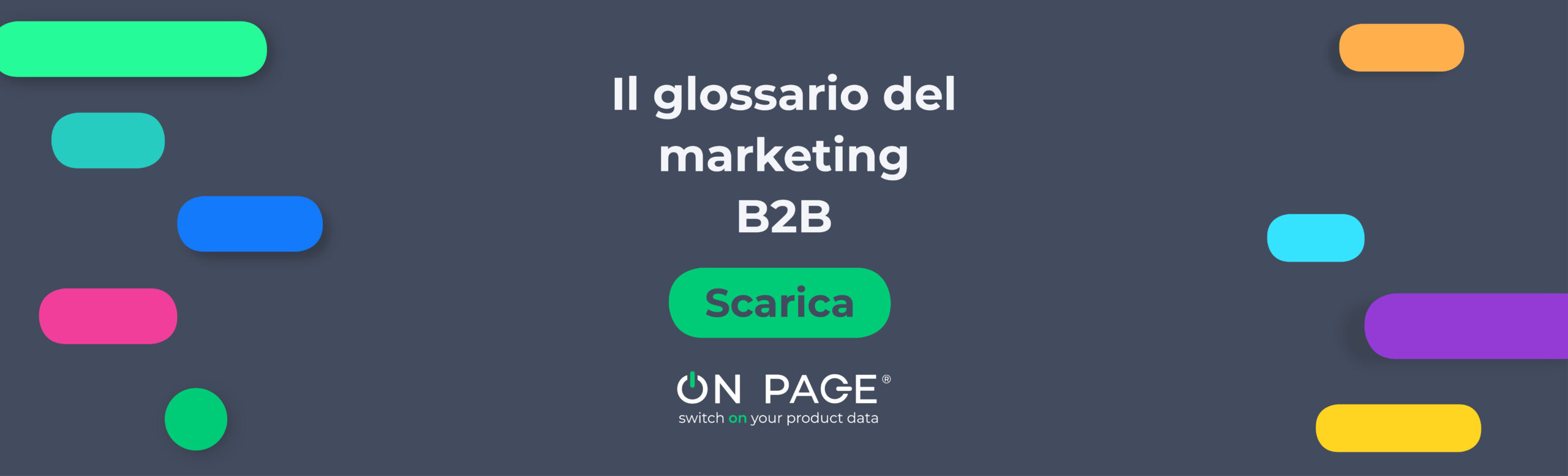 Il glossario del marketing B2B